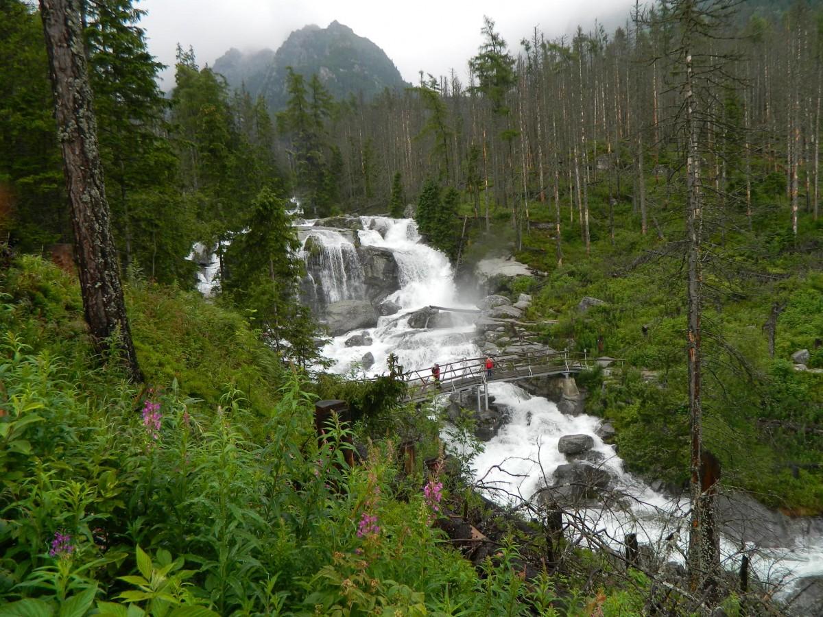 Znalezione obrazy dla zapytania dolina wodospadów słowacja