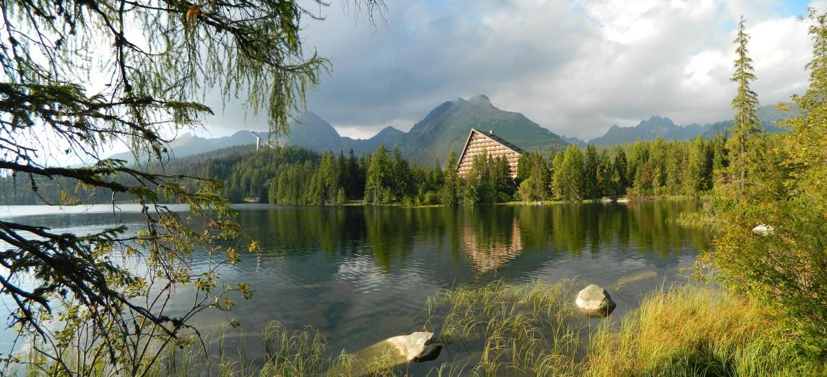 Zdjęcia: Szczyrbskie Jezioro., Szczyrbskie Jezioro., Panorama z nad Szczyrbskiego Stawu., SłOWACJA