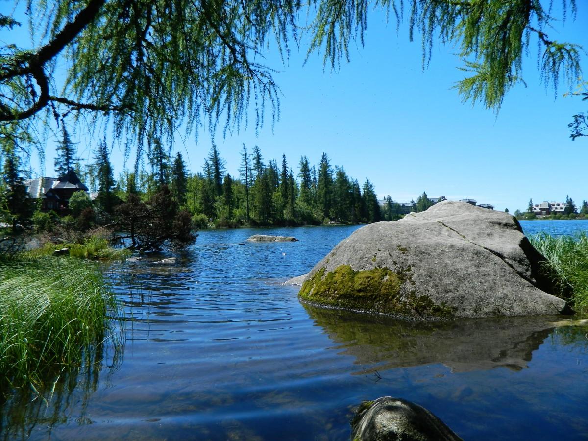Zdjęcia: Szczyrbskie Jezioro., Szczyrbskie Jezioro., Nad Szczyrbskim Jeziorem.., SłOWACJA