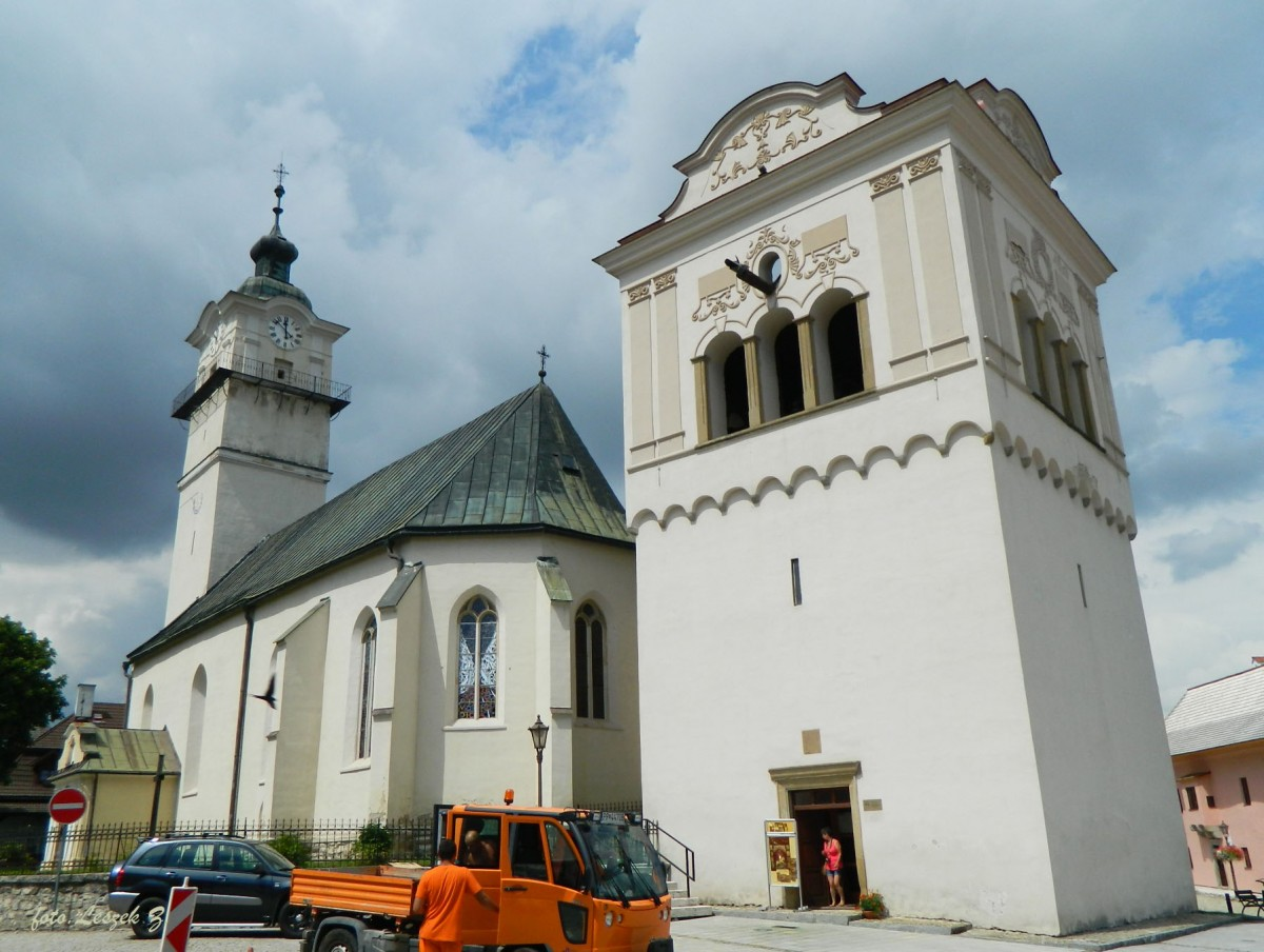 Zdjęcia: Spiska Sobota., Poprad., Spiska Sobota - kościół św. Jerzego., SłOWACJA
