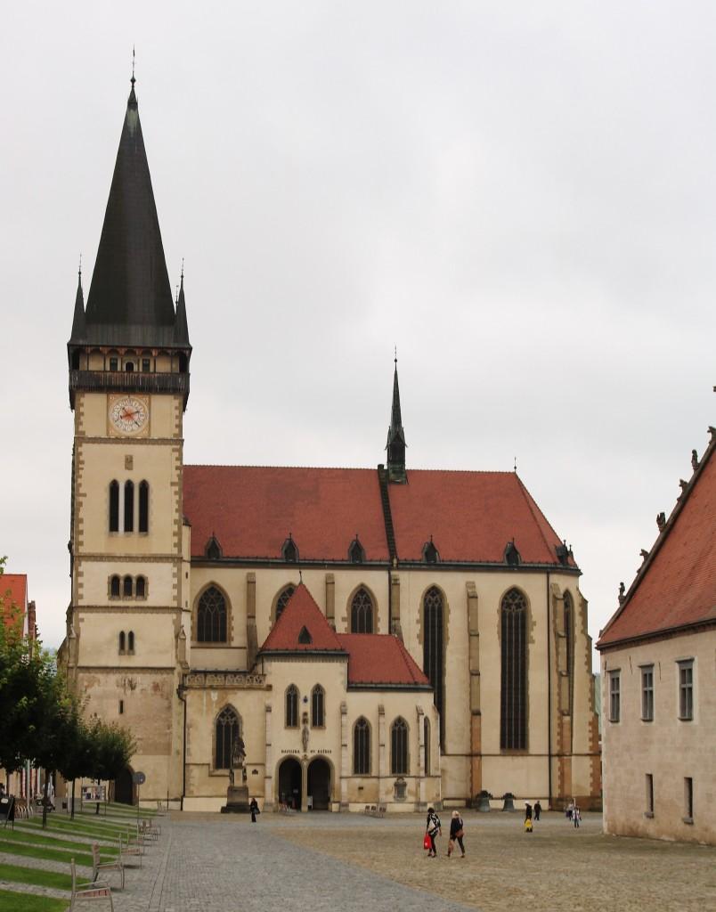 Zdjęcia: Bardejów, Kościół pw św. Idziego , SłOWACJA