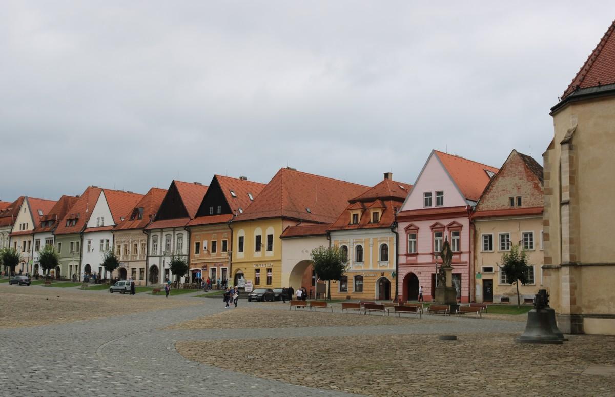 Zdjęcia: Bardejów, Bardejowskie kamieniczki, SłOWACJA