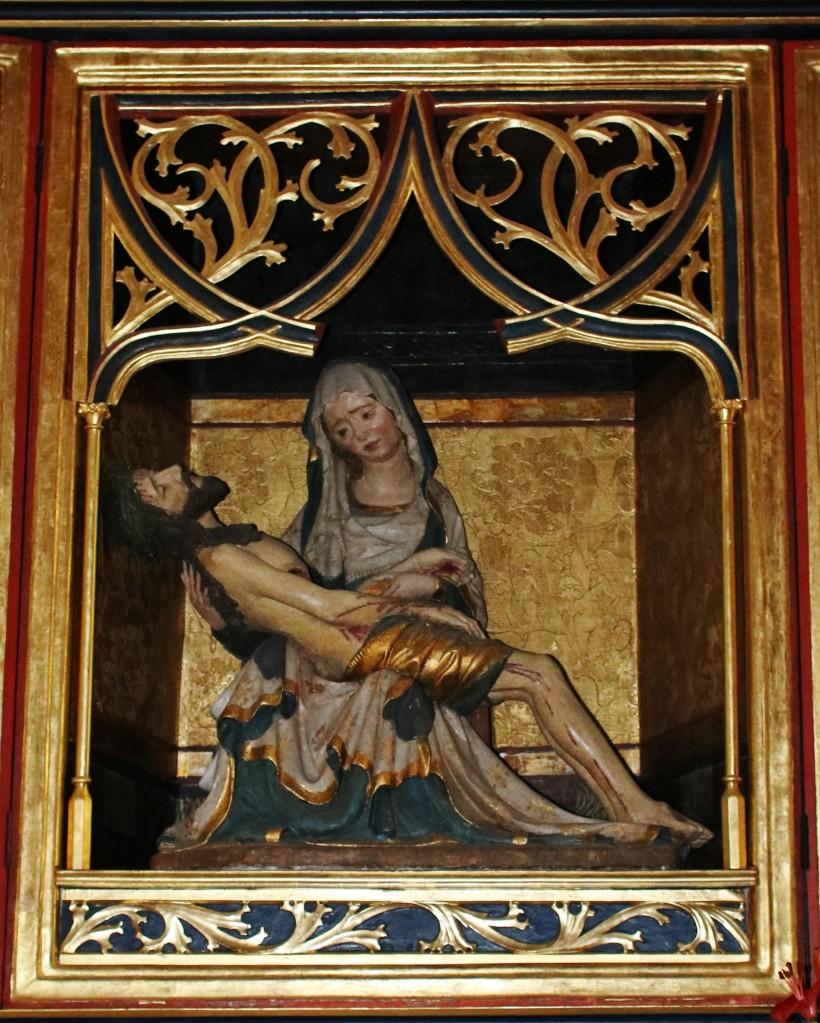 Zdjęcia: Bardejów, Kościół św. Idziego. Ołtarz siedmiu boleści Maryi, SłOWACJA