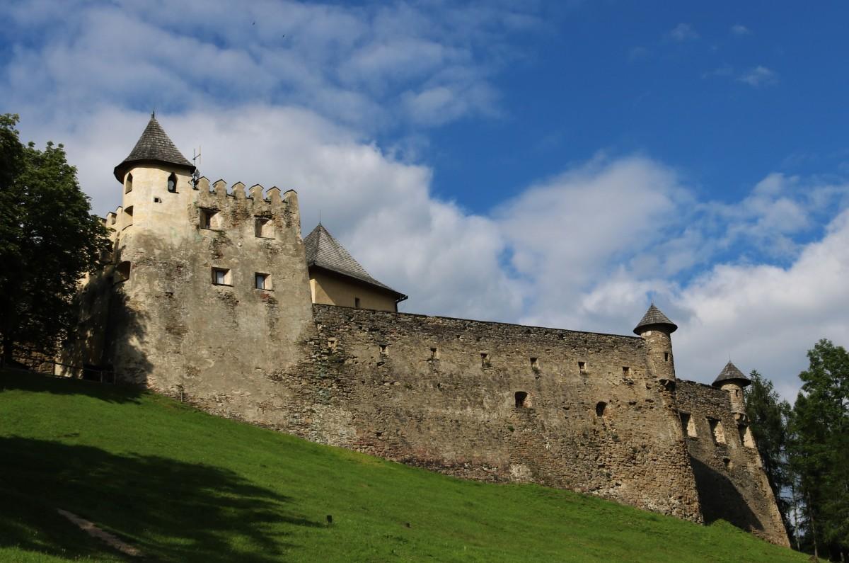 Zdjęcia: Stara Lubownia, Zamek w Starej Lubowni, SłOWACJA