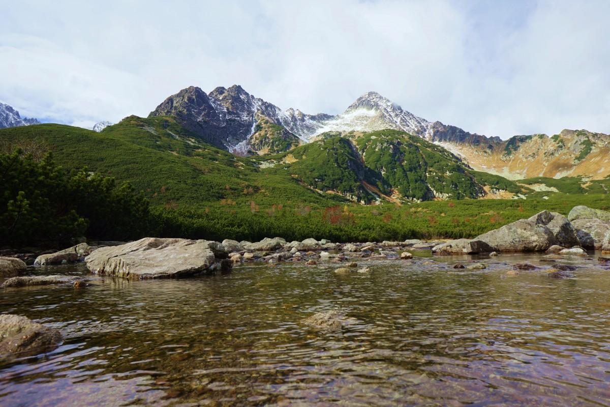 Zdjęcia: Dolina Białych Stawów, Tatry Wysokie , Nad Białym, SłOWACJA