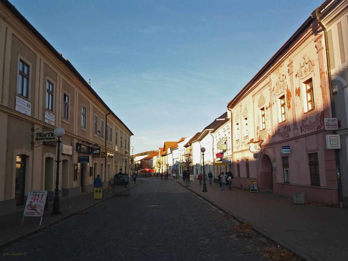 Zdjęcia: Kieżmark., Spisz., Kamieniczki Kieżmarka.(Kieźmarok)., SłOWACJA