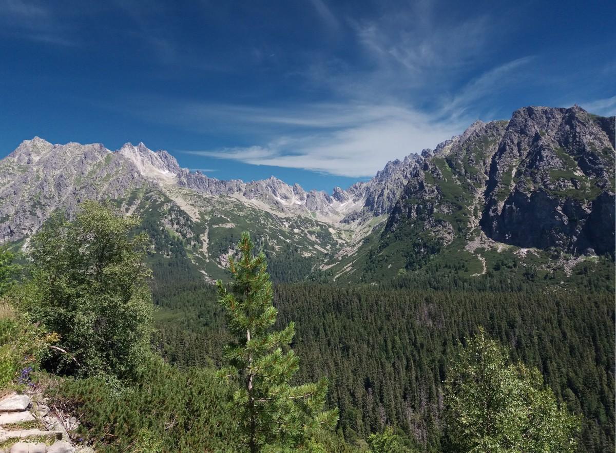Zdjęcia: Szlak: Szczyrbski Staw - Popradzki Staw., Wysokie Tatry., Dolina Złomisk., SłOWACJA