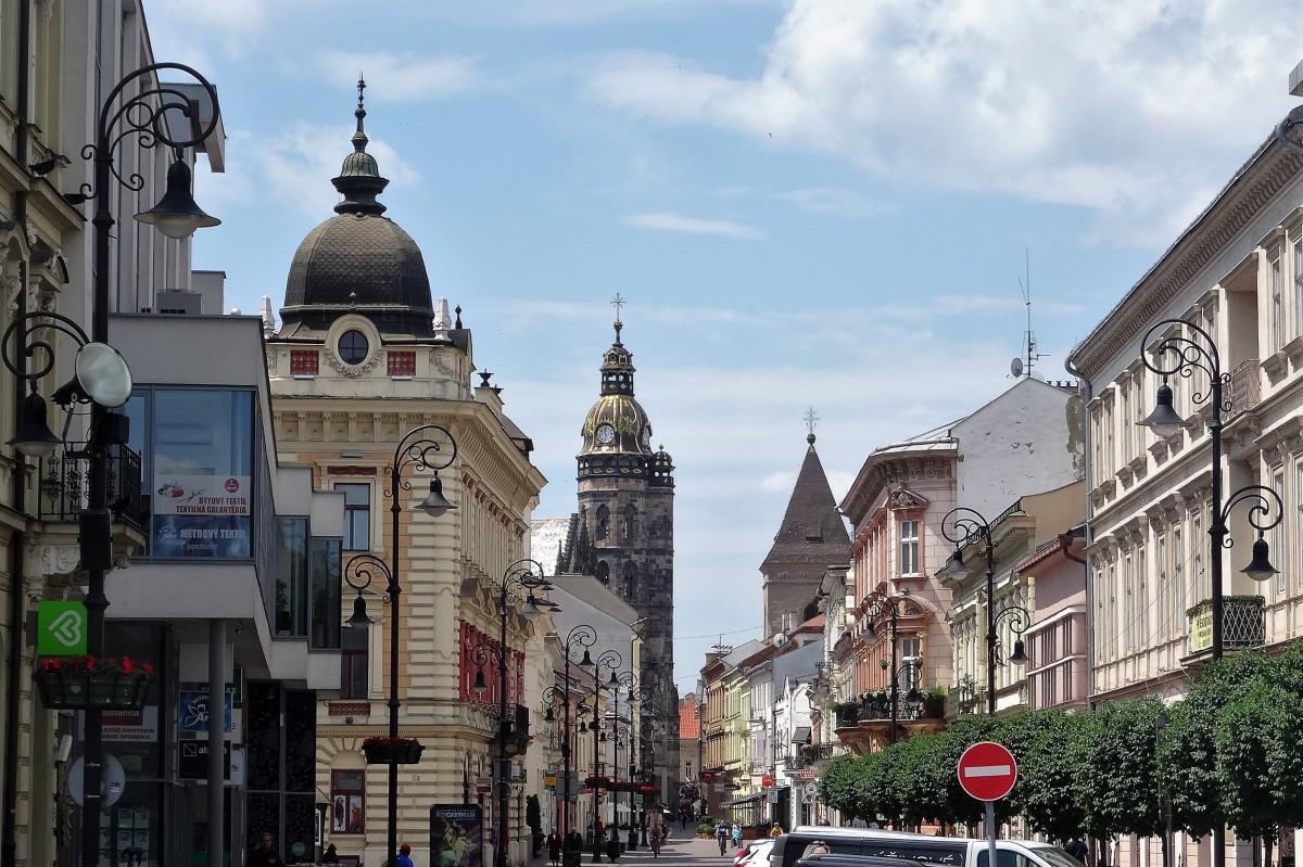 Zdjęcia: Starówka, Koszyce, Spacerkiem po mieście, SłOWACJA