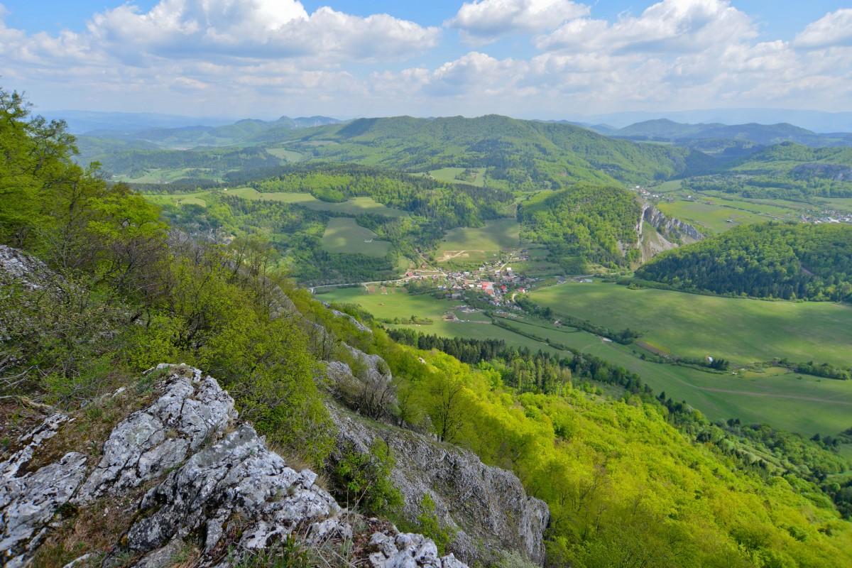 Zdjęcia: Powaska Bystrzyca, Sulovskie Wierchy, Zaskalie, SłOWACJA