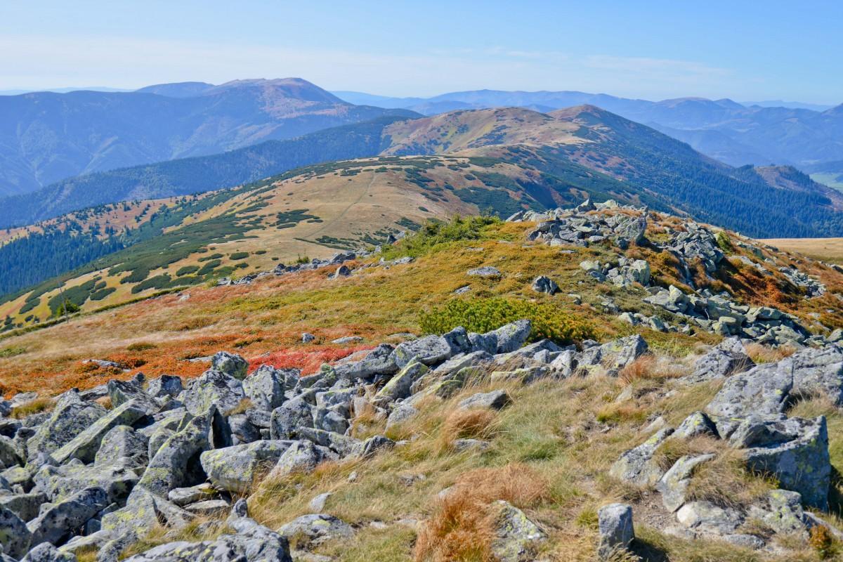 Zdjęcia: Szlak na Chabenec, Tatry Niżne, W Tatrach Niskich, SłOWACJA