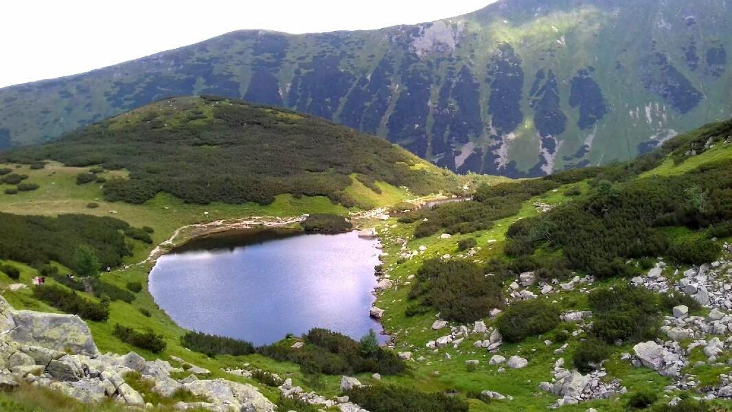 Zdjęcia: Dolina Rohacka, Tatry Zachodnie, jeden z Rohackich Stawów, SłOWACJA