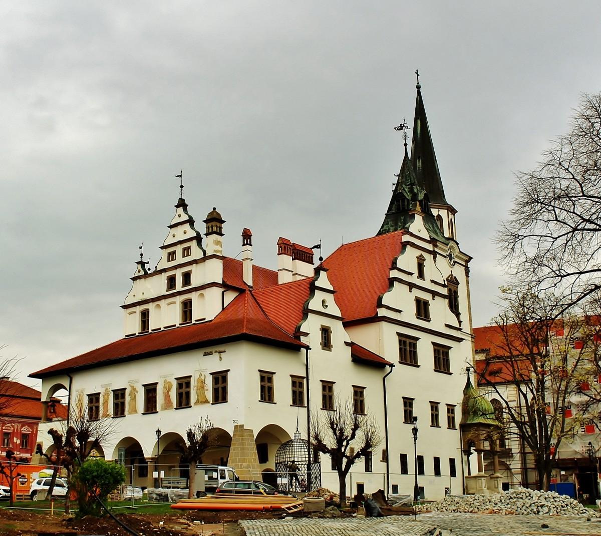Zdjęcia: Lewocza, Kraj preszowski, Ratusz z XVII wieku, SłOWACJA