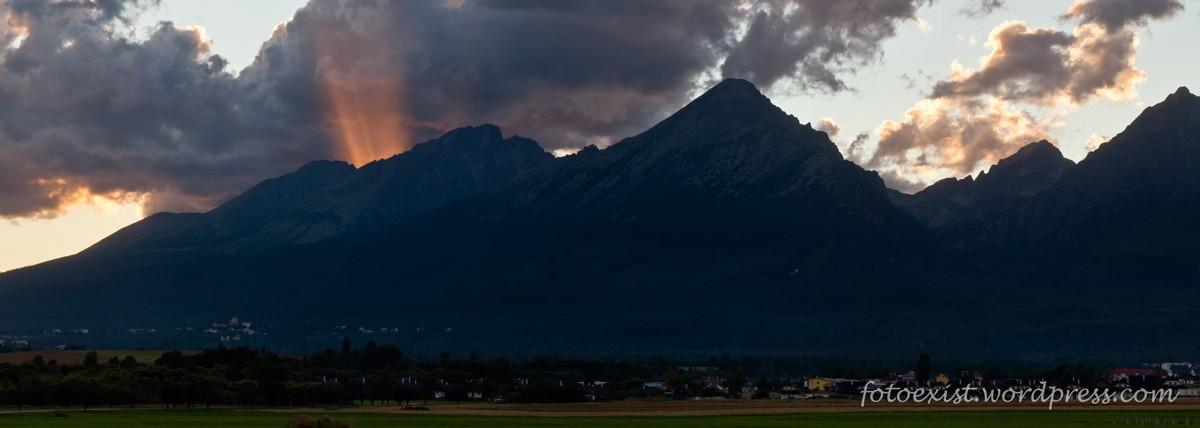 Zdjęcia: Stara Leśna, Tatry, Zachód słońca, SłOWACJA