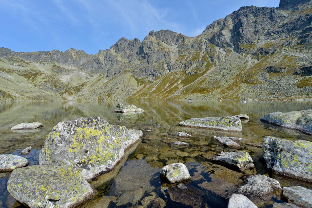 Zdjęcia: Dolina Hincova, Tatry Wysokie, Velke Hincovo Pleso, SłOWACJA