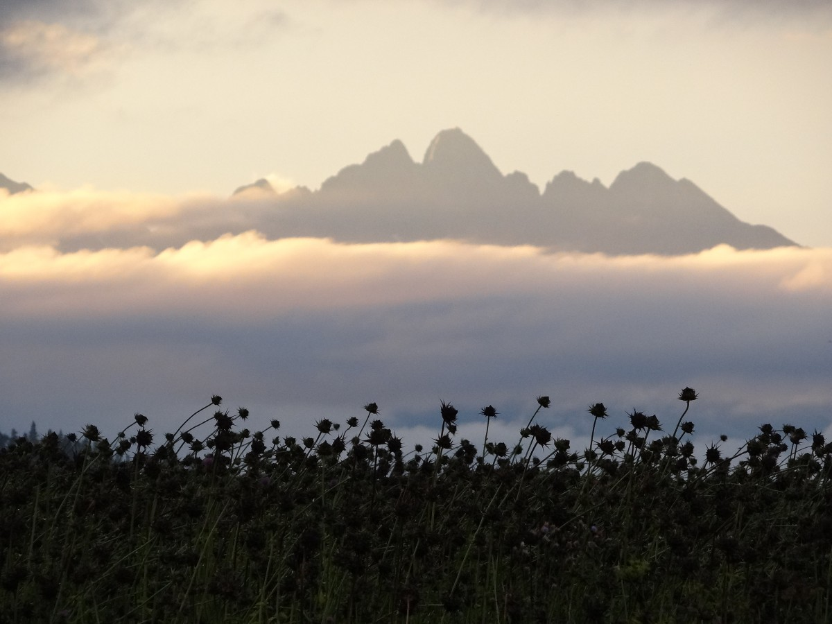 Zdjęcia: Podlesok, Slovensky Raj, Tatry po burzy, SłOWACJA