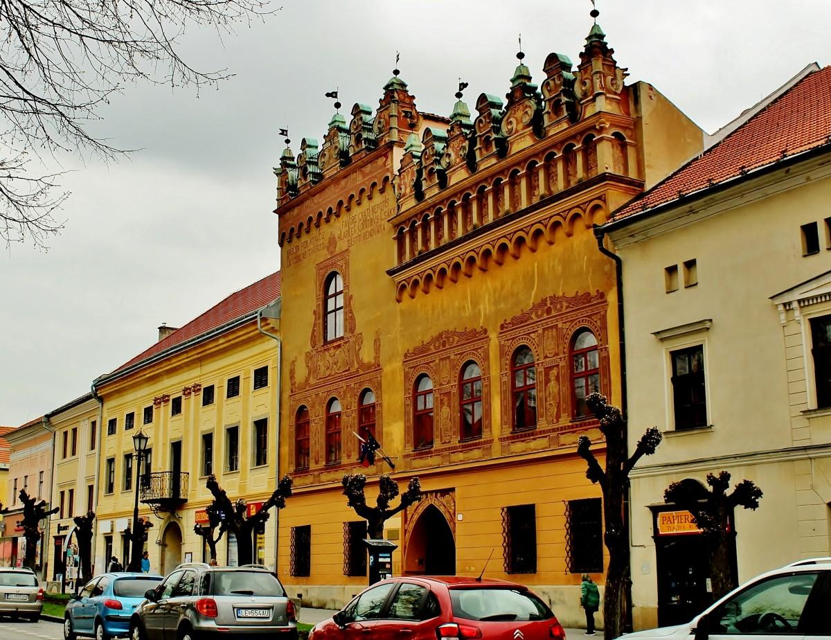 Zdjęcia: Lewocza, Kraj preszowski, Kamienica Turzonów z XVI wieku, SłOWACJA