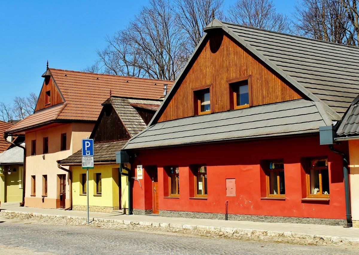 Zdjęcia: Kieżmark, Kraj preszowski, Uliczka, SłOWACJA