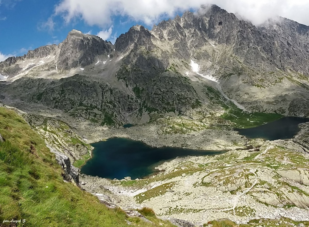 Zdjęcia: Dolina Pięciu Stawów Spiskich., Wysokie Tatry., Widok do Doliny Pięciu Stawów Spiskich., SłOWACJA