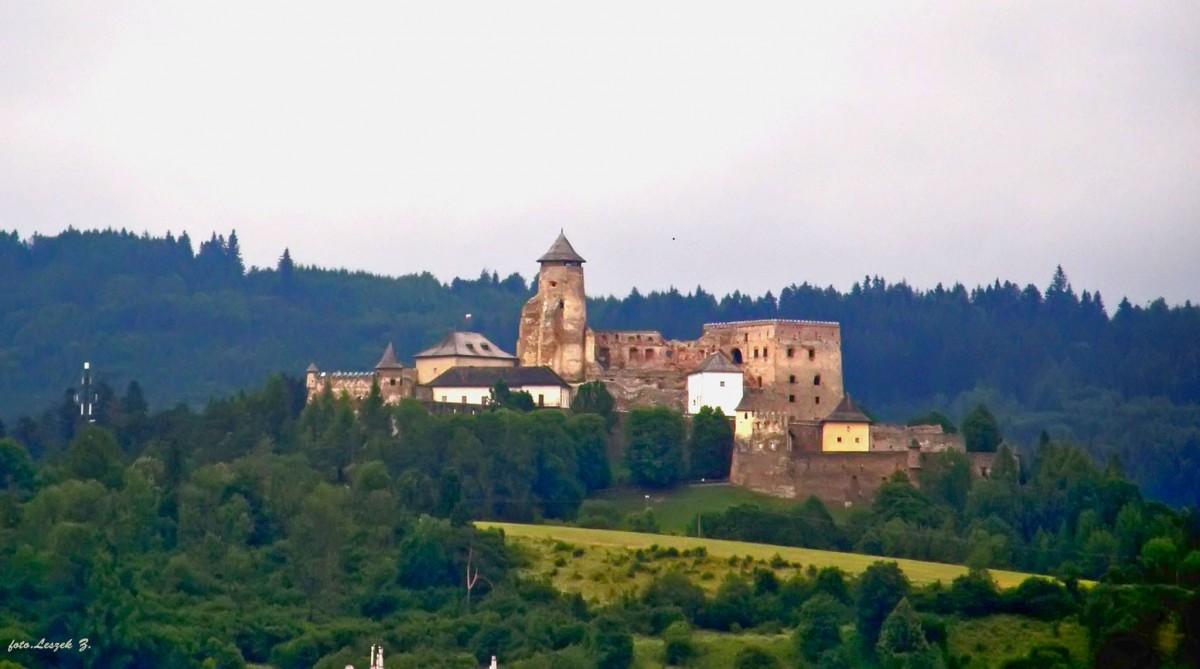 Zdjęcia: region Spisz., Kraj preszowski,, Stara Lubownia - zamek., SłOWACJA