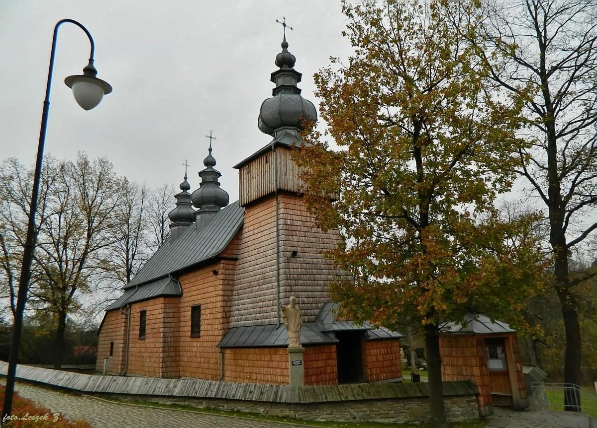 Zdjęcia: gmina Grybów., pow. nowosądecki., Binczarowa - cerkiew św. Dymitra., POLSKA