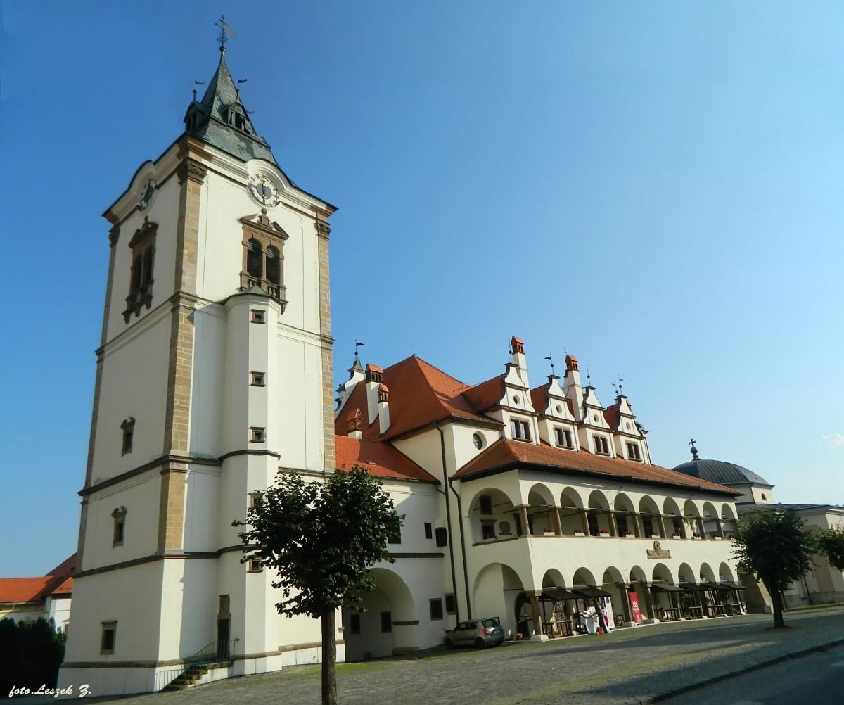 Zdjęcia: region Spisz., Kraj preszowski,, Lewocza - Ratusz - symbol miasta., SłOWACJA