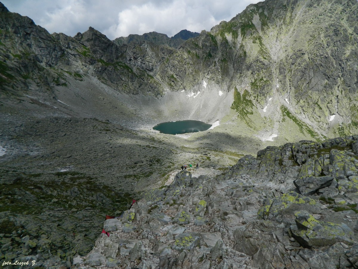 Zdjęcia: Dolina Młynicka., Wysokie Tatry., Kolisty Staw w Dolinie Młynickiej., SłOWACJA