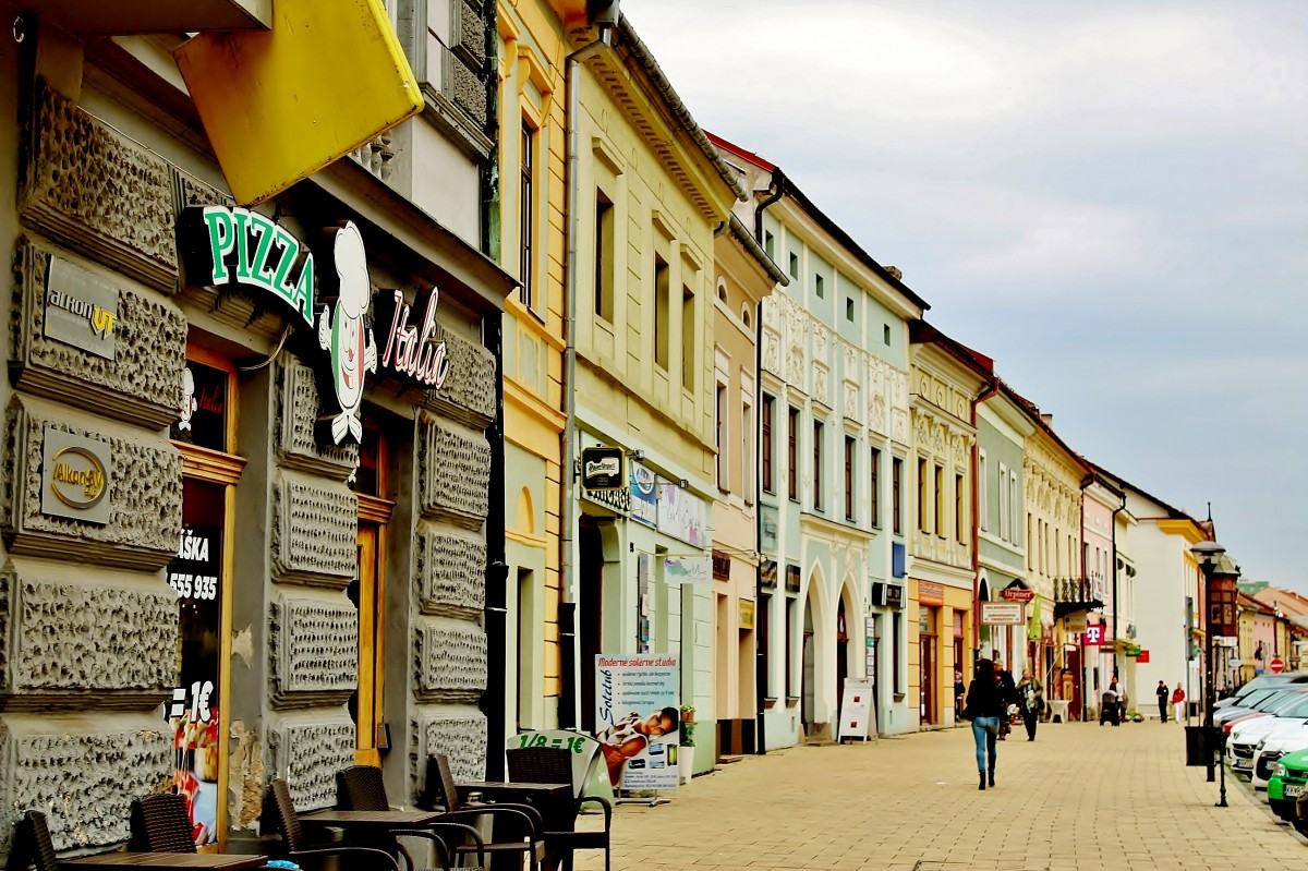 Zdjęcia: Nowa Wieś Spiska, Kraj koszycki, Uliczka, SłOWACJA