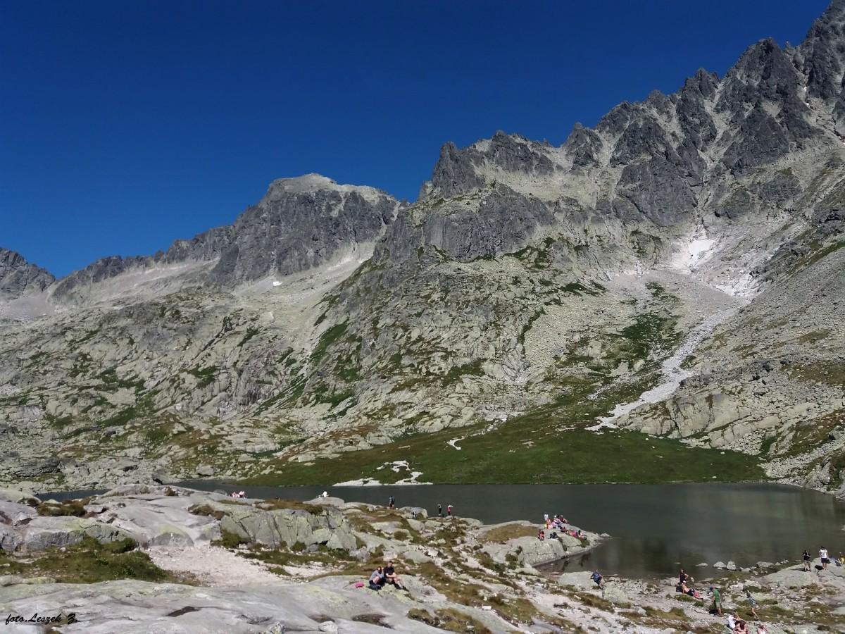 Zdjęcia: Dolina Pięciu Stawów Spiskich., Wysokie Tatry., Pośredni Staw Spiski., SłOWACJA