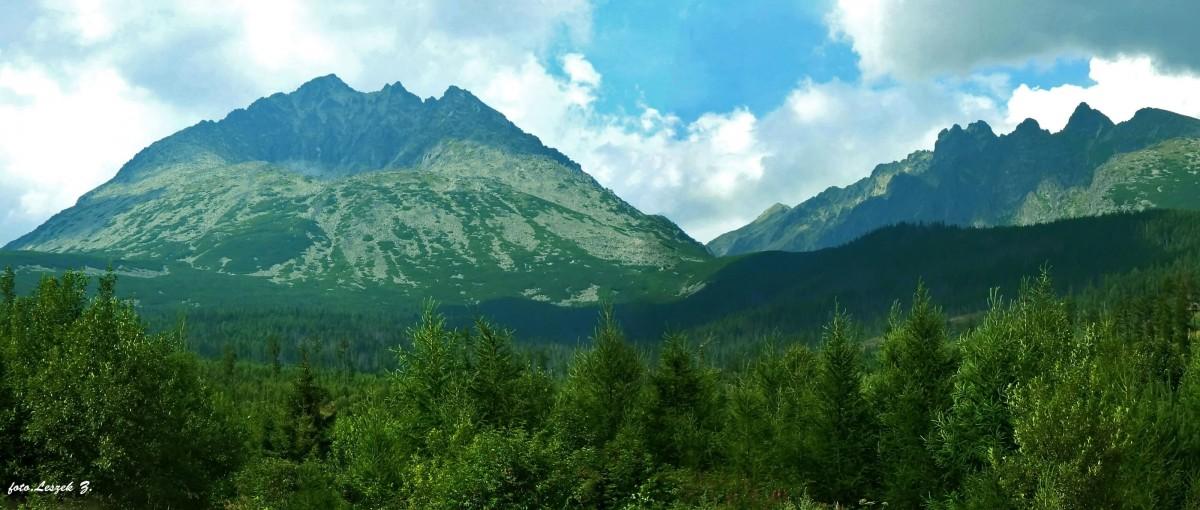 Zdjęcia: Okolice Starego Smokowca., Wysokie Tatry., Gerlach - Król Tatr z drogi., SłOWACJA