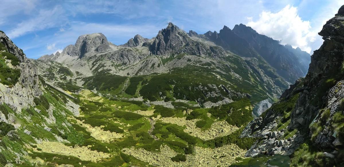 Zdjęcia: Dolina Staroleśna., Wysokie Tatry., Z Doliny Staroleśnej., SłOWACJA