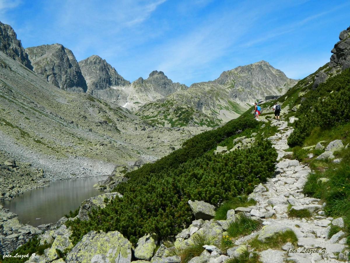 Zdjęcia: Dolina Staroleśna., Wysokie Tatry., Długi Staw (Dlhe pleso) w Dolinie Staroleśnej., SłOWACJA