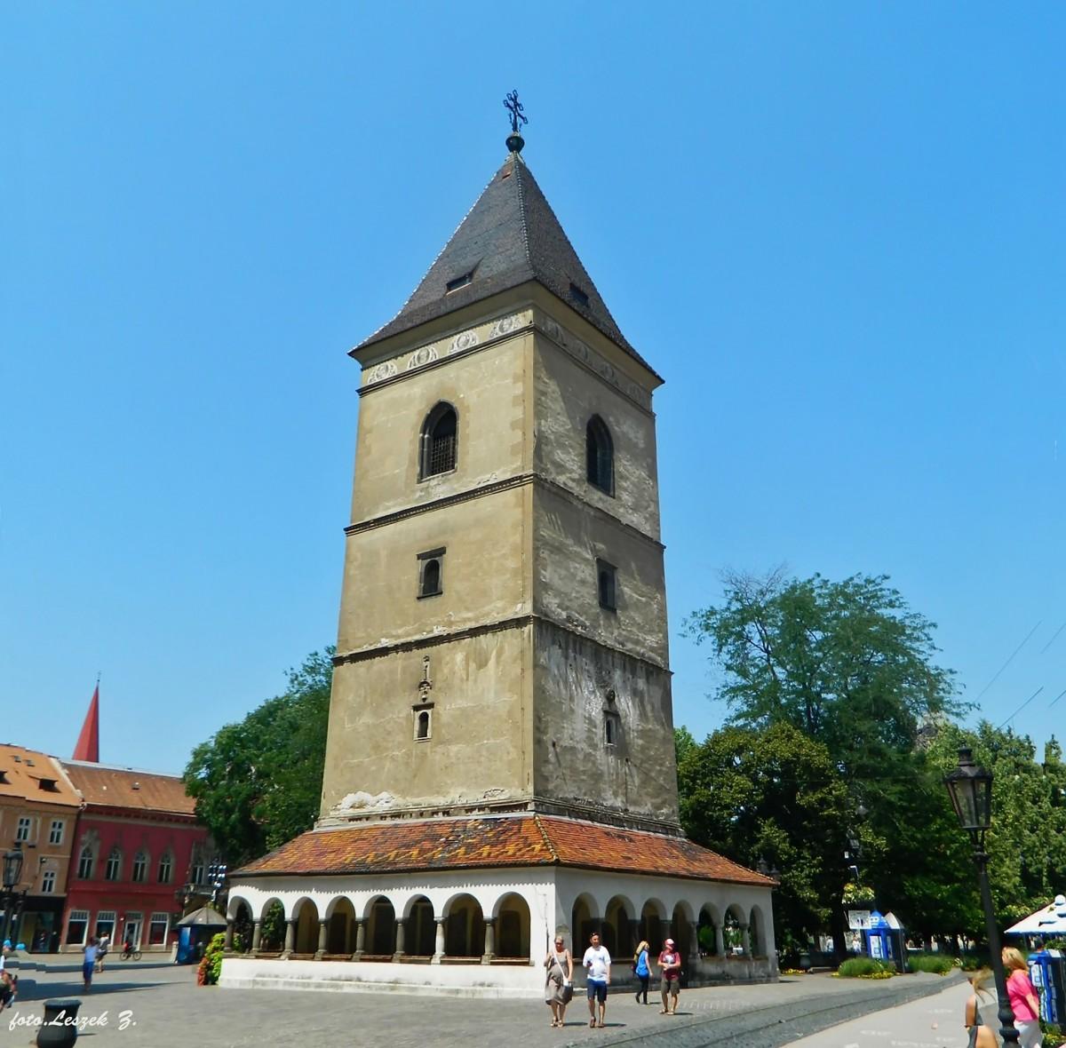 Zdjęcia: Koszyce, Kotlina Koszycka., Koszyce - Urbanowa Wieża., SłOWACJA