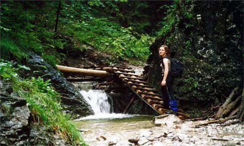 SłOWACJA / Słowacki Raj / Dolina Sucha Bela / Na szlaku, a w zasadzie w korycie potoku
