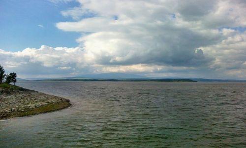 Zdjecie SłOWACJA / Orawa / Jezioro Orawskie / Jezioro Orawskie