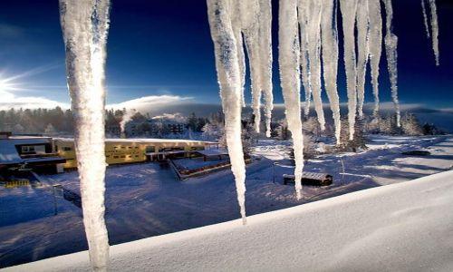 Zdjęcie SłOWACJA / Tatry / Szczyrbskie Jezioro / mrozny poranek