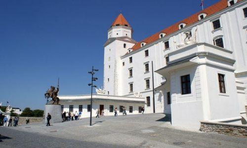 Zdjęcie SłOWACJA / Europa Środkowa / Bratysława / Zamek w Bratysławie
