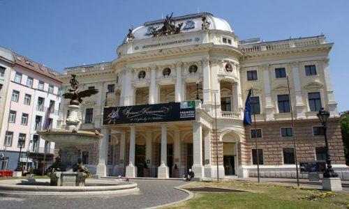 Zdjęcie SłOWACJA / Europa środkowa / Bratysława / Teatr Narodowy w Bratysławie