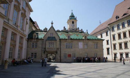 Zdjęcie SłOWACJA / Europa Środkowa / Bratysława / Ratusz od drugiej strony