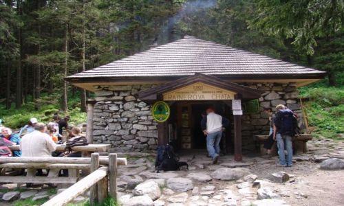 Zdjecie SłOWACJA / Poprad / Dolina Zimnej Wody / Rainerova chata, Rainerka
