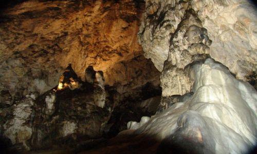 Zdjęcie SłOWACJA / Liptowski Mikulasz / Demianowska Jaskinia Lodowa / Formy skalno-lodowe