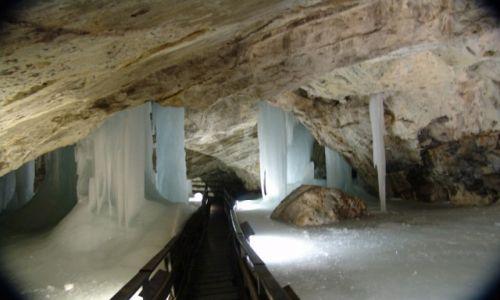 Zdjęcie SłOWACJA / Liptowski Mikulasz / Demianowska Jaskinia Lodowa / Pałac królowej lodu