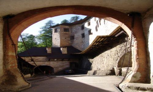 Zdjecie SłOWACJA / Orawa / Orawski Podzamok / Most zwodzony
