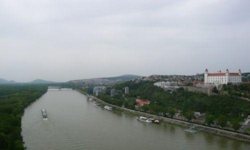 Zdjecie SłOWACJA / - / Bratysława / Widok z UFO