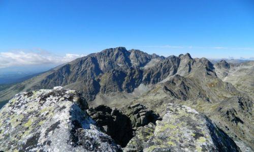 Zdjecie SłOWACJA / Tatry / Sławkowski Szczyt / widok na Gerlach i kilka tam szczytów :)