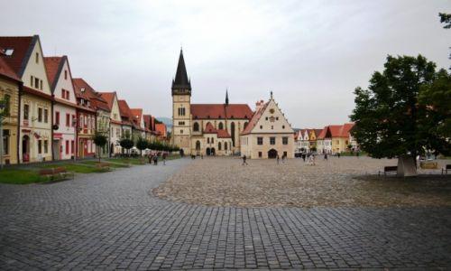 SłOWACJA / KRAJ PRESZOWSKI / Bardejów / Pochmurny Bardejov
