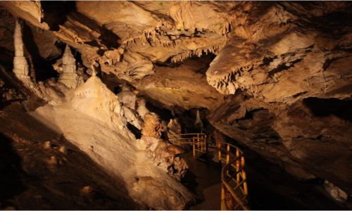 Zdjęcie SłOWACJA / Poprad /  Tatranska Javorina, Jaskinia Beliańska / W świecie labiryntów