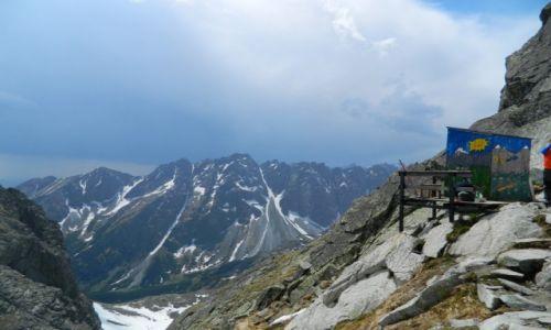 Zdjecie SłOWACJA / tatry / w drodze na rysy / Najwyżej położona szaleta w Tatrach