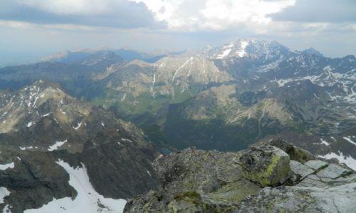 SłOWACJA / tatry / widok na Wysokie Tatry / szczyt RYSY :)