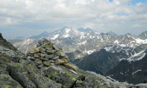 Zdjecie SłOWACJA / tatry / widok na gerlach, łomnicki szczyt i wiele innych :) / Tatry Wysokie pod Rysami