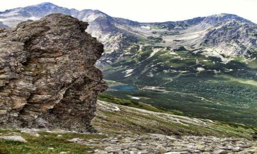 Zdjecie SłOWACJA / - / Widok z Przełęczy Rakuska / Moje Tatry